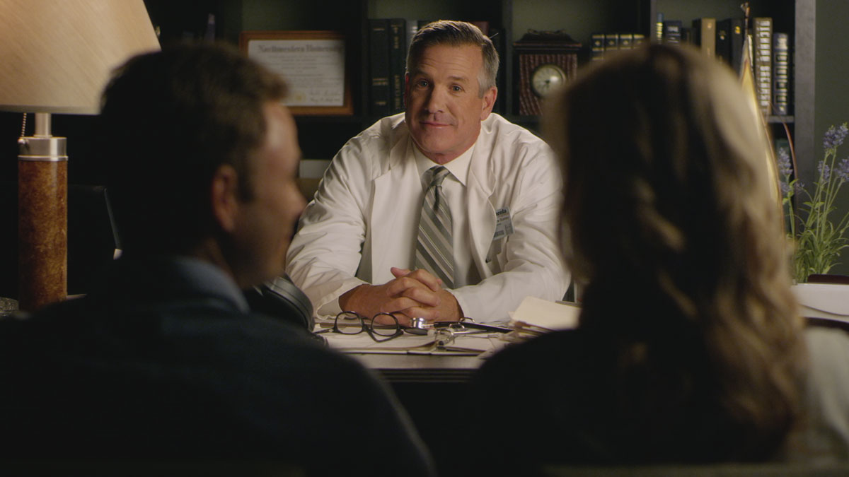 Jeff Corbett Doctors Office Scene